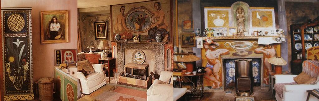 Interieur Charleston Bloomsbury