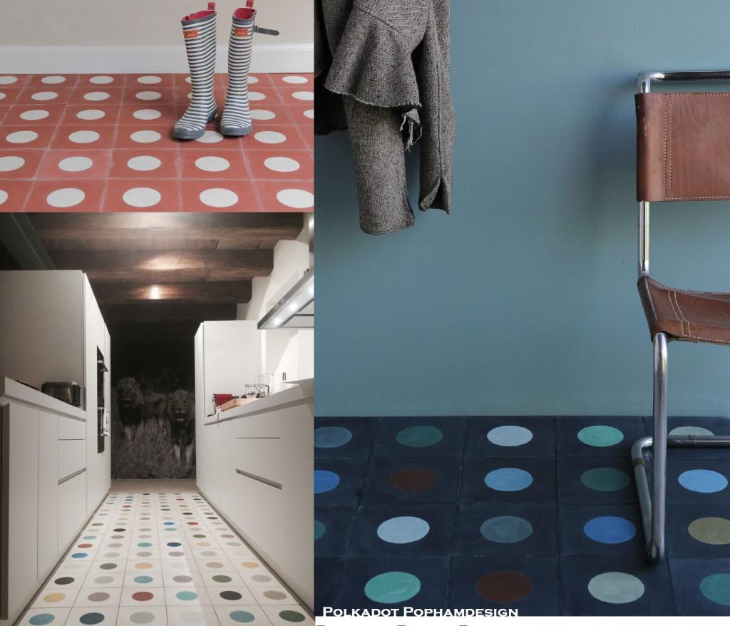 #polkadot#pophamdesign#blog#nikinterieurkleuradvies#tegels